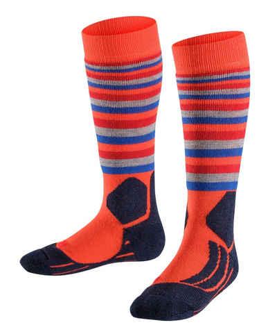 FALKE Skisocken »SK2 Stripes Skiing« (1-Paar) für extra warme Füße
