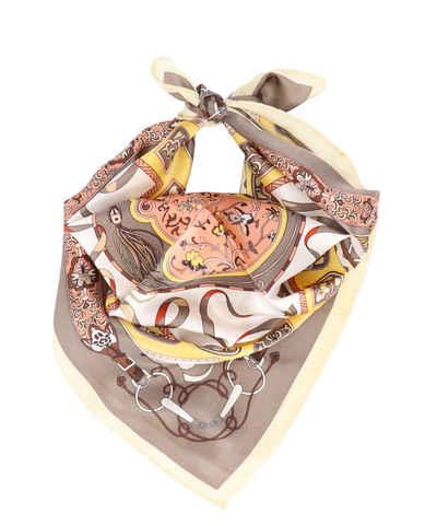 halsüberkopf Accessoires Dreieckstuch »Nicky Tuch 53x53 cm« dreieckiges Seidentuch mit tollem Print