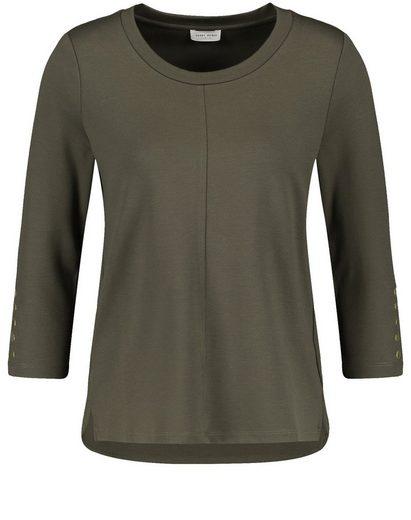 GERRY WEBER 3/4-Arm-Shirt »Sweatshirt mit 3/4 Arm«