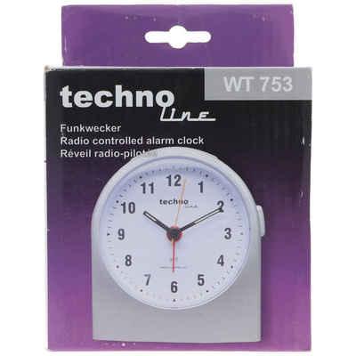 technoline Kinderwecker »WT 753 Funkwecker Silber Weckerzeiten 1 fluoreszie«