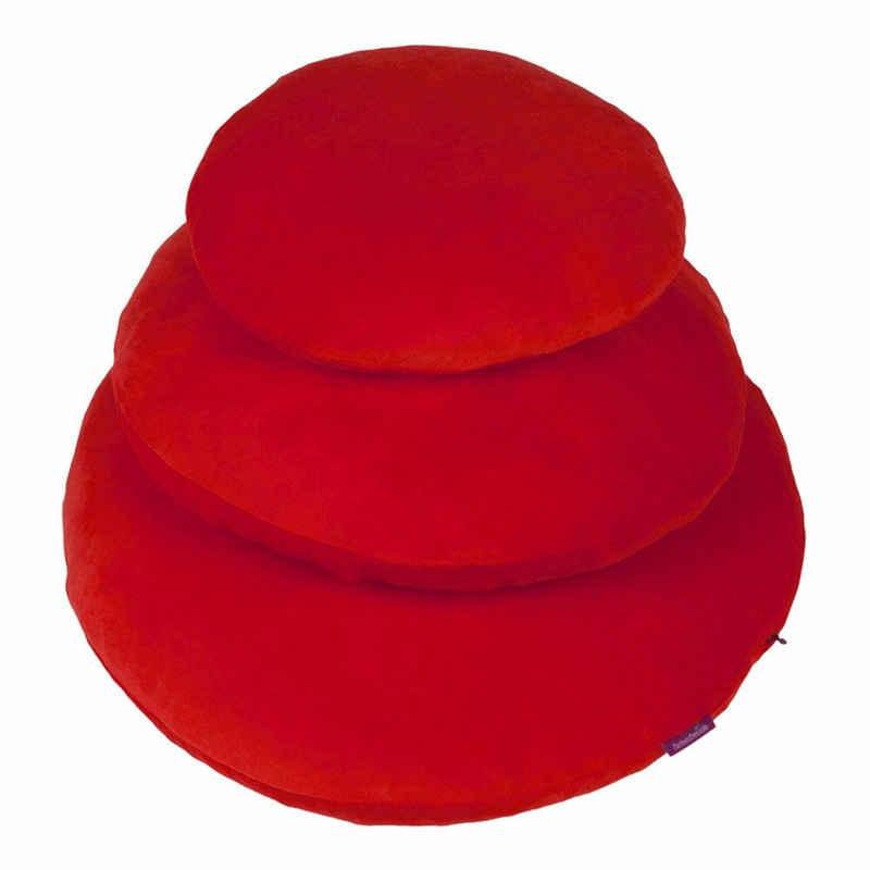 Kissenhülle »Rund Tomate 60 cm«, Farbenfreunde (1 Stück)