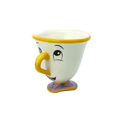 """ABYstyle Tasse »Tasse Disney D.Schöne & D.Biest """"Chip"""" Mittel 250M«"""