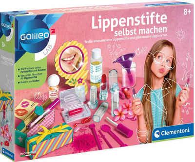 Clementoni® Experimentierkasten »Galileo Lippenstifte selbst machen«, Made in Europe