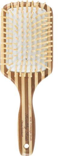 OLIVIA GARDEN Paddelbürste »Healthy Hair Bambus Paddle 9-reihig HH-4 Massagebürste«, Bürstenkörper und Borsten aus Bambus