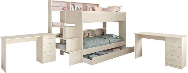 Komplettzimmer - Parisot Jugendzimmer Set »Bibop«, mit 2 Schreibtischen  - Onlineshop OTTO