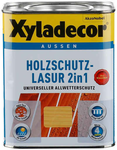 Xyladecor Holzschutzlasur »2in1«, 0,75 Liter, natur