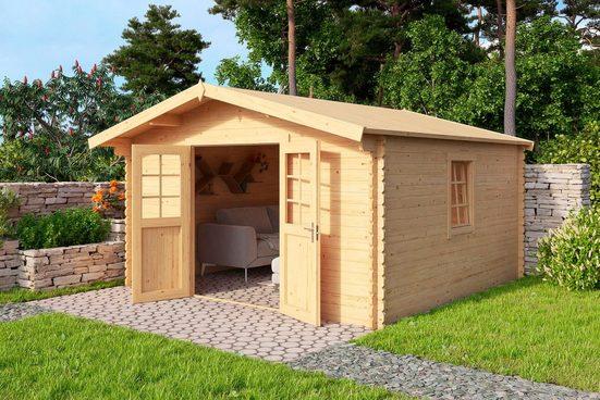 Nordic Holz Gartenhaus »Nienstedten 1«, BxT: 396x296 cm