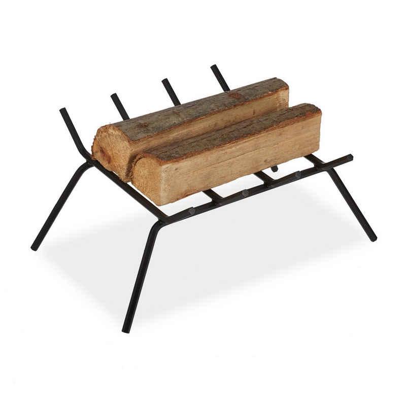 relaxdays Feuerrost »Kamin Feuerrost aus Schmiedeeisen«