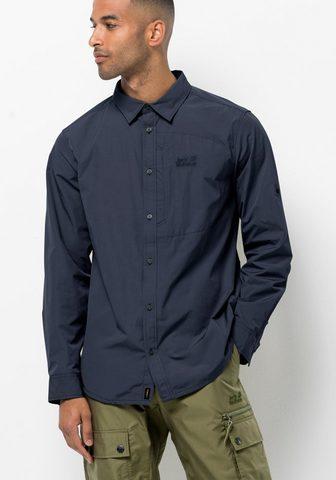 Jack Wolfskin Marškiniai »LAKESIDE ROLL-UP SHIRT M«