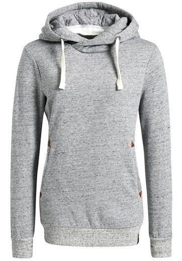 khujo Kapuzensweatshirt »ULYSSA« mit Kombination aus Kapuze und Tubekragen