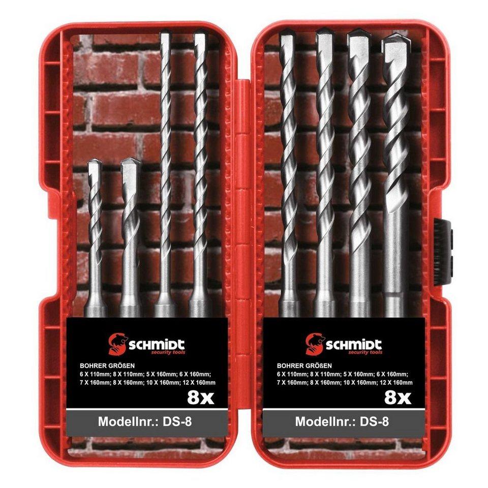 Hammerbohrer Steinbohrer  Betonbohrer 5-8x110-210 Mm SDS Plus Bohrer Set 7 Tlg