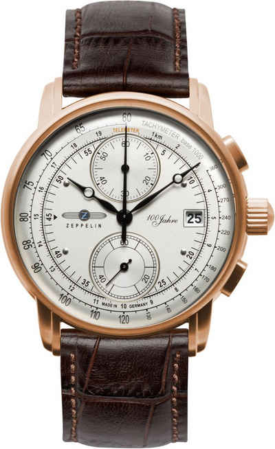 ZEPPELIN Chronograph »100 Jahre Zeppelin, 8672-1«