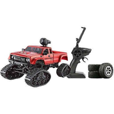 Amewi Spielzeug-Auto »Pickup Truck mit Rädern & Ketten 4WD 1:16 blau«