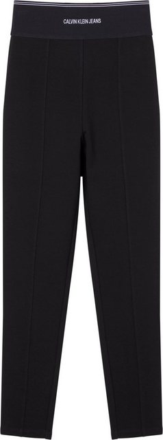 Hosen - Calvin Klein Jeans Leggings »MILANO LOGO ELASTIC LEGGING« mit breitem Calvin Klein Logo Elastikbund ›  - Onlineshop OTTO
