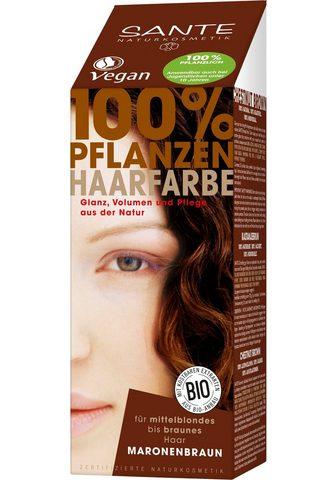 SANTE Haarfarbe »Pflanzenhaarfarbe maronenbr...