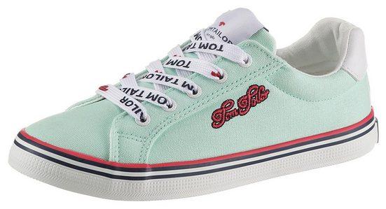 TOM TAILOR Sneaker mit hübscher Logostickerei