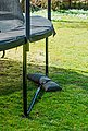 BASER Sandsack »Outdoor«, geeignet für Ampelsonnenschirme, 4x25kg, dunkelgrau, Bild 6