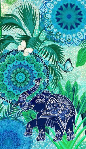 hip Strandtuch »Isara« (1-St), mit Mandalas und Elefant