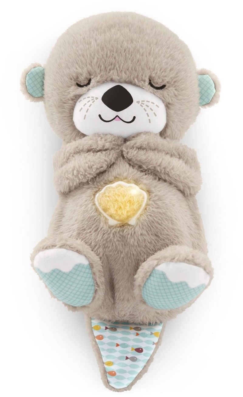 Fisher-Price® Plüschfigur »Schlummer-Otter«, Einschlafhilfe, mit sanftem Licht