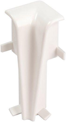 EGGER Innenecke »Universal weiß«, für 6 cm Sockelleiste