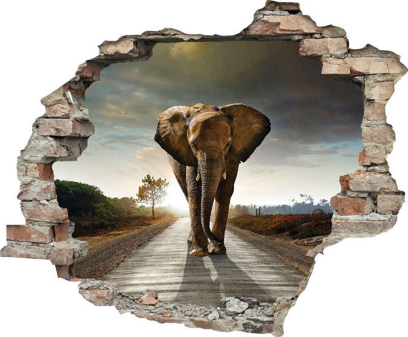 queence Wandtattoo »Elefant« (1 Stück)