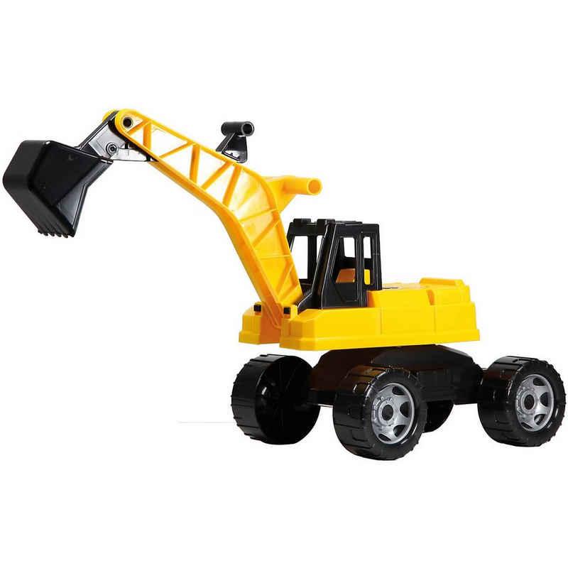 Lena® Spielzeug-Aufsitzbagger »Starke Riesen - Sitzbagger, 69 cm«