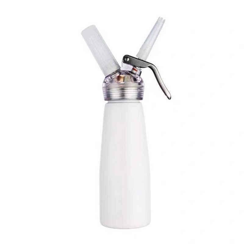 Sross Sahnesyphon »Sahnespender Aluminium mit 3 Dekorations-Düsen & Reinigungsbürste, 500 ml«