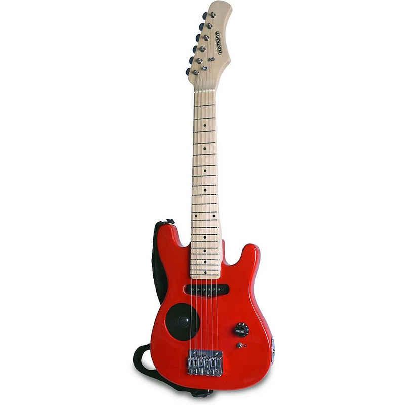 Bontempi Saiten »Genius E-Gitarre mit Ahornkorpus«