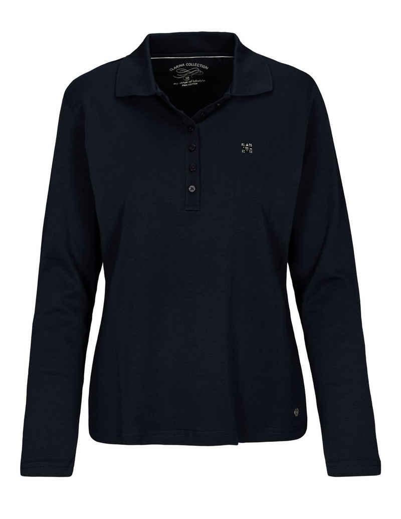 Clarina Poloshirt aus hochwertigem Pima Cotton