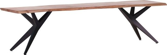Gutmann Factory Sitzbank »Nola«, Holzbank aus Massivholz Sheesham, Küchenbank mit toller Holzmaserung