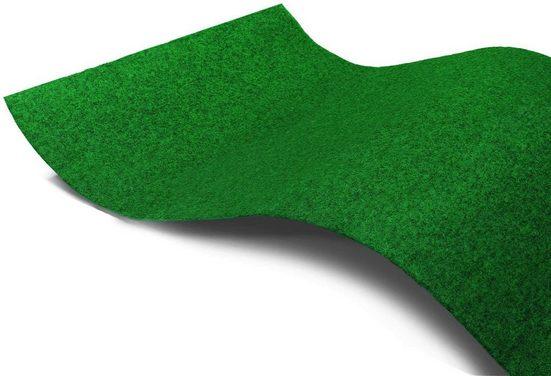 Kunstrasen »PARK«, Primaflor-Ideen in Textil, rechteckig, Höhe 7 mm, Rasenteppich, mit Noppen, strapazierfähig, witterungsbeständig, In- und Outdoor geeignet