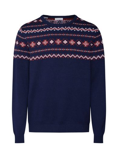 SELECTED HOMME Strickpullover »SLHNEWCHRIST CREW NECK W EX«