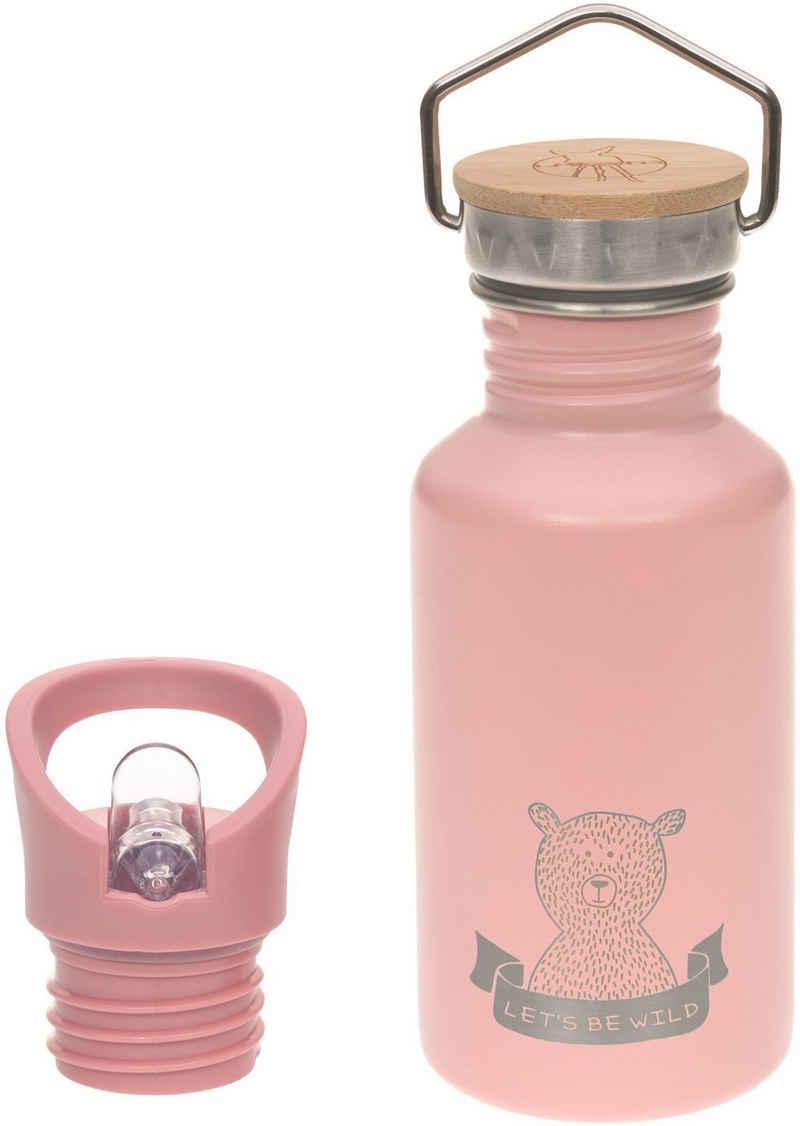 LÄSSIG Trinkflasche »Adventure, rose«