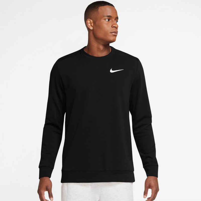 Nike Sweatshirt »DRI-FIT MENS LONG-SLEEVE TRAINING CREW«