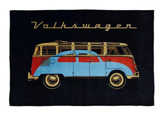 Wohndecke »VW Bulli T1«, VW Collection by BRISA, sehr weich und kuschelig