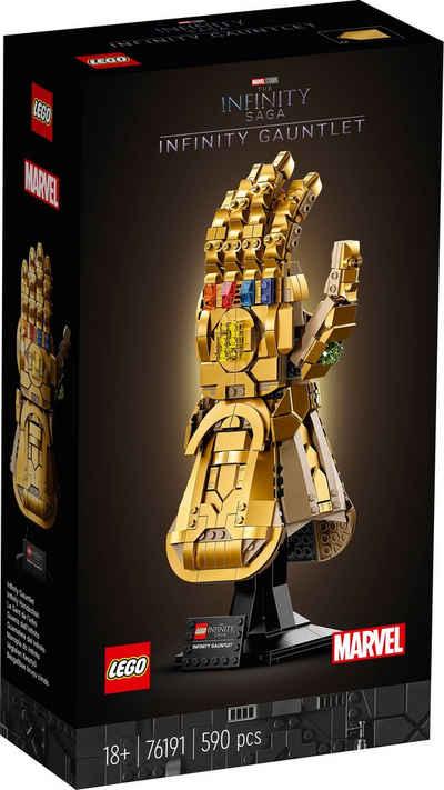 LEGO® Konstruktionsspielsteine »Infinity Handschuh (76191), Marvel Avengers Movie 4«, (590 St), Made in Europe