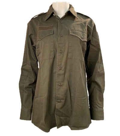 Replay Hemdbluse »REPLAY Hemd-Bluse stylisches Damen Freizeit-Hemd mit großem Tierprint auf der Rückseite Ausgeh-Hemd Grün«