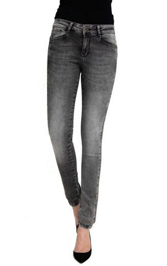 Zhrill Slim-fit-Jeans »Blake« Zhrill Damen Jeanshose Röhrenjeans 5 Pocket Vintage Skinny Fit Blake