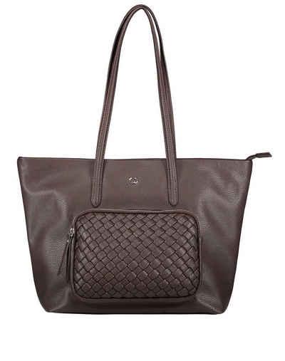 GERRY WEBER Handtasche »Shopper Wave mit Flecht-Detail«