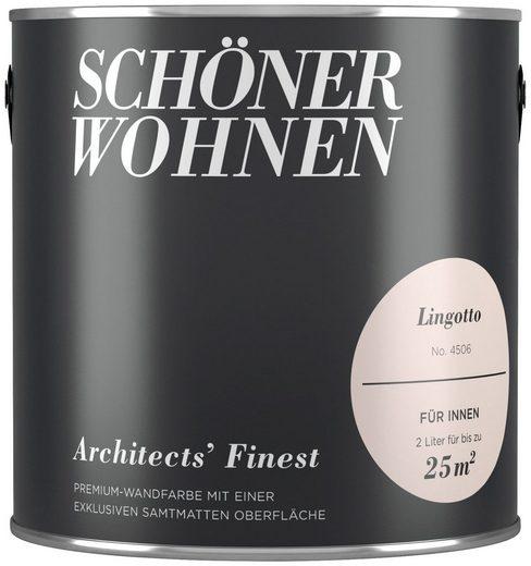 SCHÖNER WOHNEN-Kollektion Wand- und Deckenfarbe »Architects' Finest - Lingotto«, 2 l