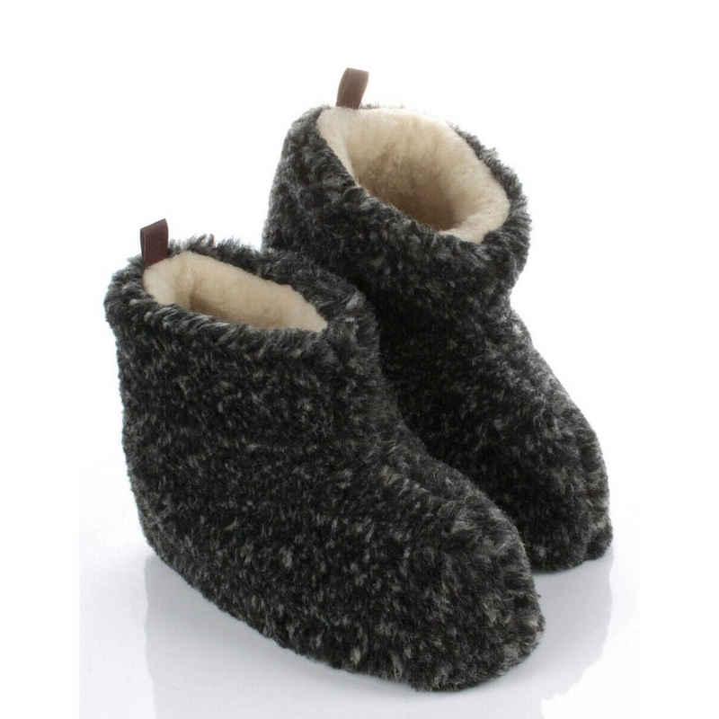 HausSchuhe-Design »Warme Wollsocken Winter HausSchuhe aus Schafwolle HüttenSchuhe« Hausschuh
