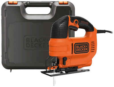Black + Decker Pendelhubstichsäge »KS701PEK«, 520 W