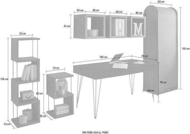 Büromöbel Sets - Büro Set »Big System Office«, (7 St)  - Onlineshop OTTO
