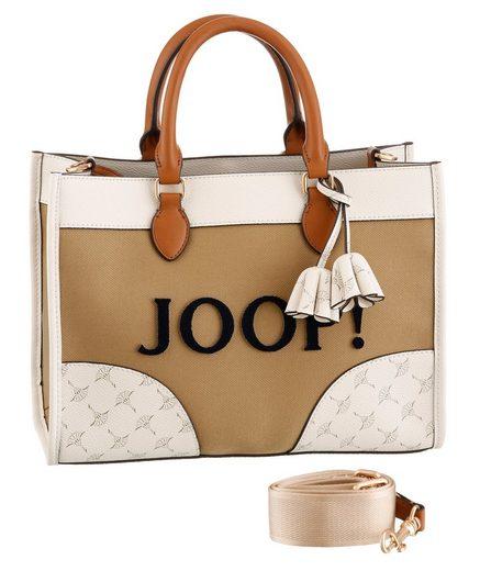 Joop! Henkeltasche »sono aurelia handbag sho«, mit herausnehmbarer Reißverschluss-Innentasche