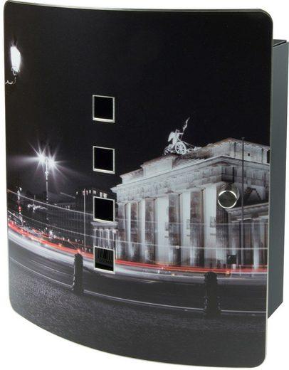 Burg Wächter Schlüsselkasten »6204/10 Ni Berlin bei Nacht«, Magnettür