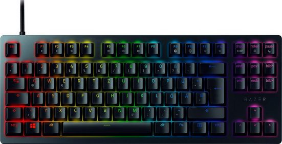 RAZER »Huntsman Tournament Ed. Red Switch - German Layout (P)« Gaming-Tastatur