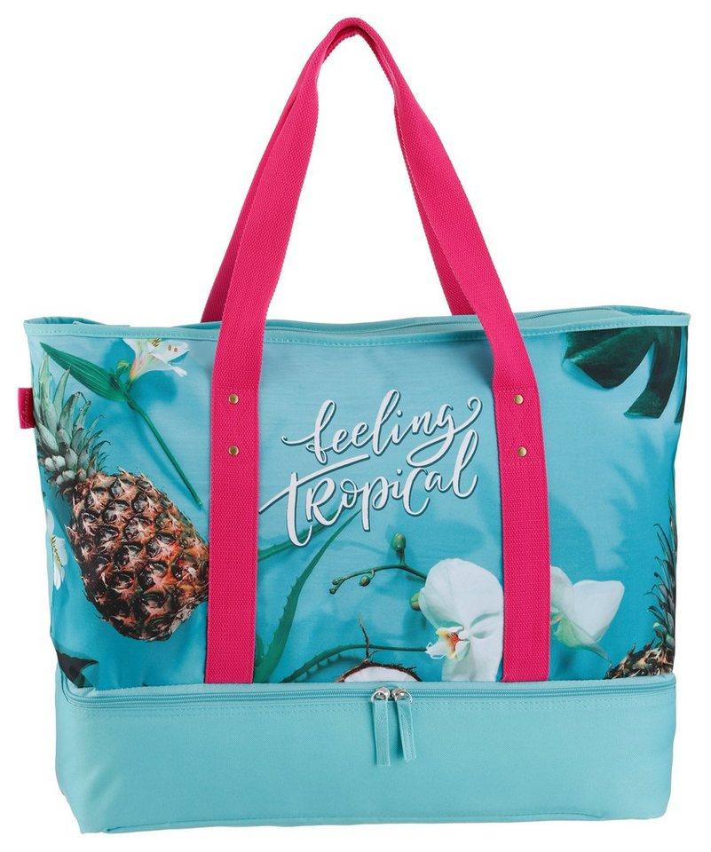 fabrizio - ® Strandtasche, mit Kühltaschenfach