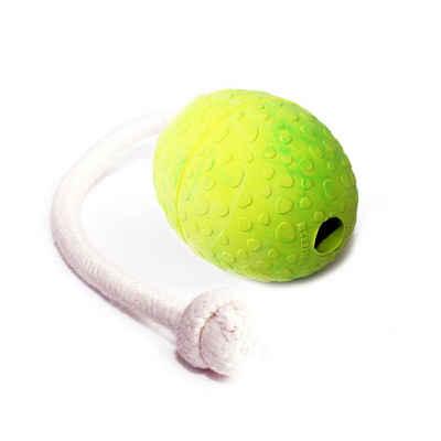 Wolters Tierball »StraußenEi am Seil«, Kautschuk