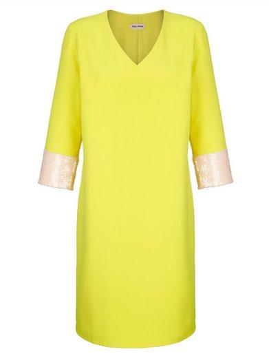 Alba Moda Kleid mit modischen Pailletten