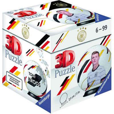 Ravensburger 3D-Puzzle »Puzzle-Ball DFB Spieler Toni Kroos EM20, 54 Teile«, Puzzleteile